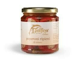 Delfino peppers filled with tuna 314ml