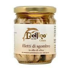 Delfino Mackerel fillets e.v.o.o. 200ml