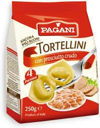 Pagani Dry Tortellini with ham 250g