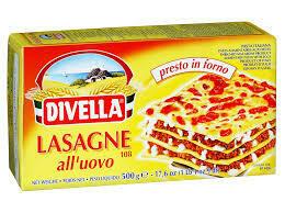 Divella Egg Lasagna 500g