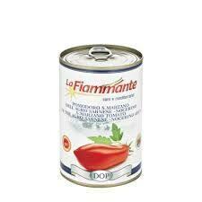 La Fiammante San Marzano Dop peeled tomatoes 400g