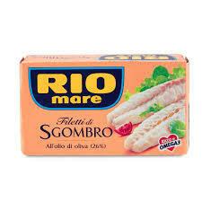 Rio Mare Mackerel fillets 125g