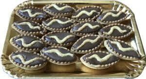 Pasticceria Pastries with chocolate cream  500g