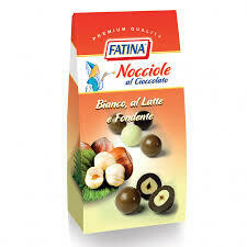 Fatina hazelnuts covered with chocolate 160g