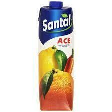 Santal Ace (Orange, Carrot, Lemon) juice  1lt