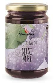 Stammi Bene Black Mulberries jam 360g
