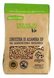 Terre d'Altamura Dry Lentils 500g