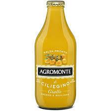 Agromonte yellow cherry tomatoes passata sauce 330g