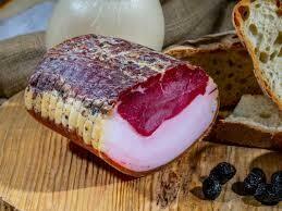 Aged Lonzino rustico with lardo from Irpinia  1kg  chunk