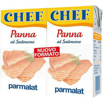 Parmalat Panna chef cream salmon 125ml x2