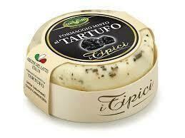 Trevalli cheese with black truffle 180g