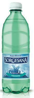 Sorgesana sparkling water 500ml