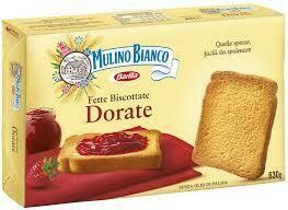 Mulino bianco toasted slices  630g