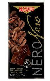 Novi Dark chocolate with coffee 75g