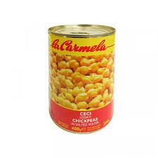 La Carmela Chickpeas 400g