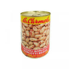 La Carmela Borlotti beans 400g