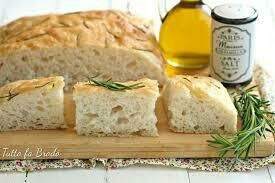 Focaccia Rosemary & extravirgin olive oil  whole 1kg