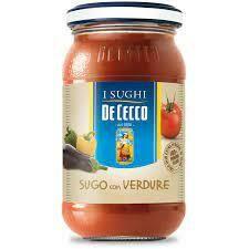 De Cecco sauce with vegetables 200g