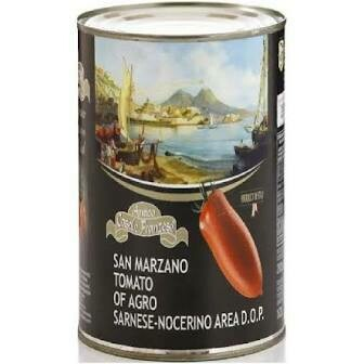 Franzese San Marzano Dop peeled tomatoes 400g