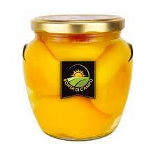 Sacam Canned Peach in syrup 700g