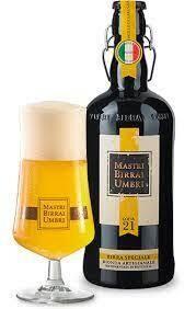 Mastri Birrai Umbri Lager Beer Not Filtered 75cl
