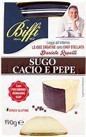 Biffi Cacio e Pepe Sauce 190g