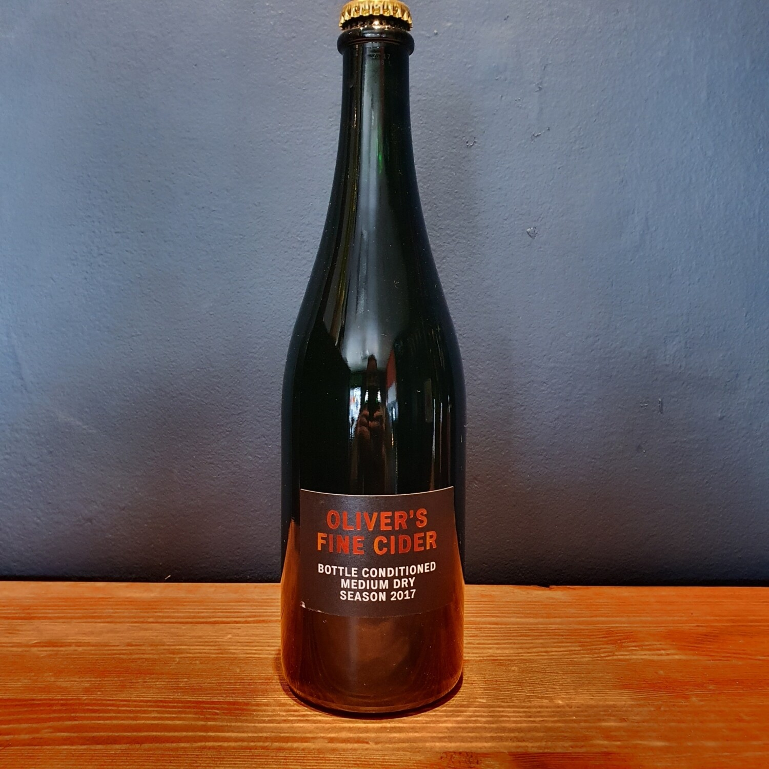 Oliver's Bottle Conditioned Dry 2017 (750ml)