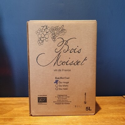 BoVin Rouge (5LTR Bag In Box)