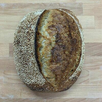 Toasted Sesame Sourdough