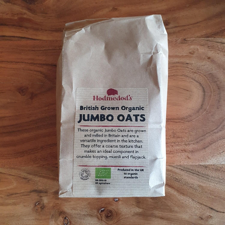Hodmedod  Organic Jumbo Oats 500g