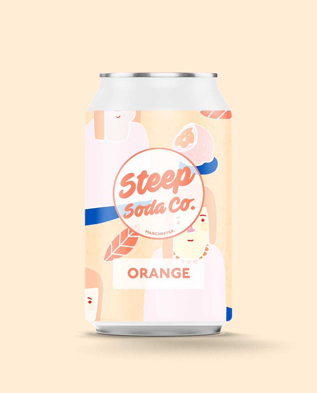 Steep Soda Orange