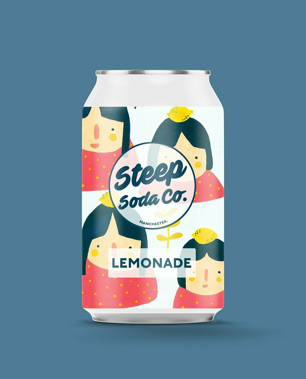 Steep Soda Lemonade