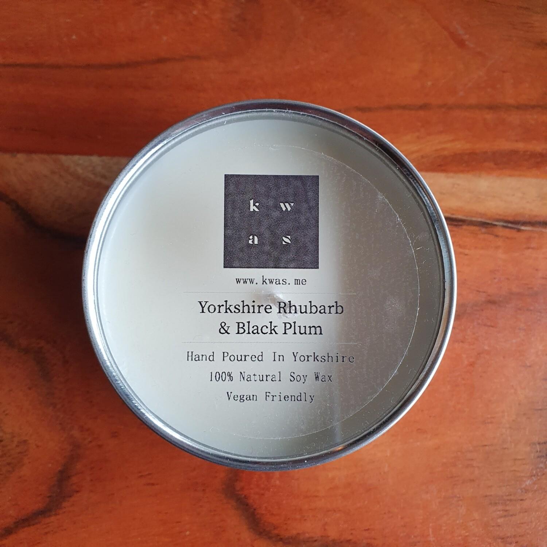 Yorkshire Rhubarb & Black Plum