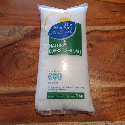Natural Coarse Sea Salt 1kg