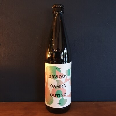 Zapato - Obvious Camra Outing - IPA 6.5% (500ml)