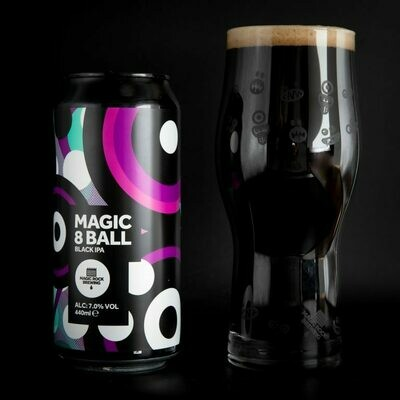 Magic 8 Ball - Black IPA / 7% (440ml)