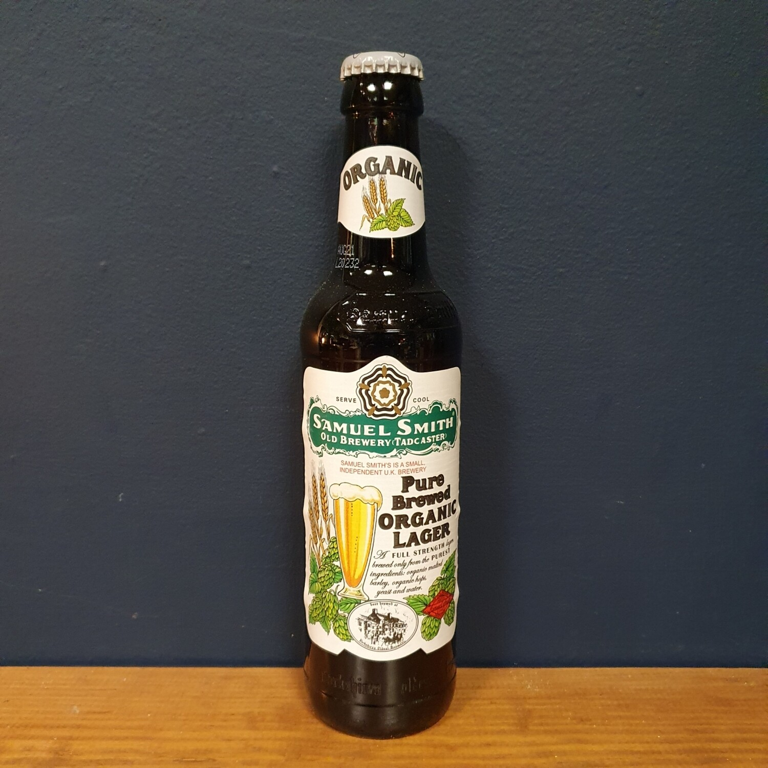 Sam Smith's - Pure Brewed Organic Lager / 5% (355ml)
