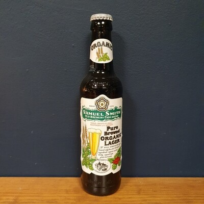 Samuel Smith's - Pure Brewed Organic Lager / 5% (355ml)