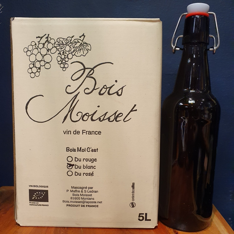 500ml Bottle 'Bois Moisset' White On Tap