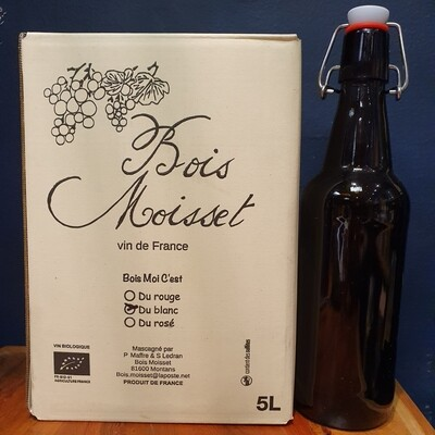 500ml Bottle 'Bois Moisset' White On Tap
