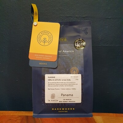 Darkwoods - Panama La Huella (Red Honey) 250g Beans