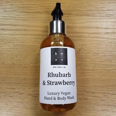 Rhubarb and Strawberry Hand & Body Wash