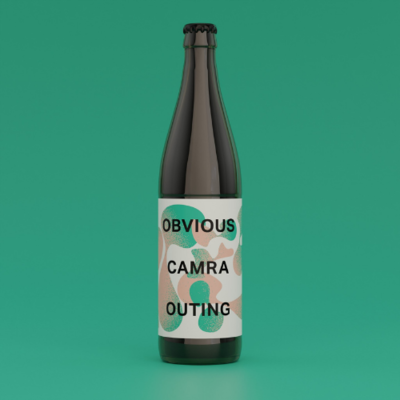 Zapato - Obvious Camra Outing - IPA 6.5% (500ml)