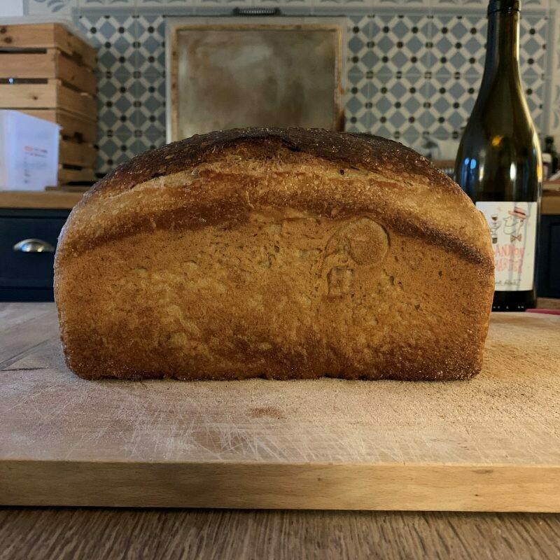 Large White Tin Loaf