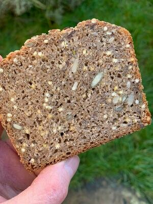Small Seeded Rye Tin Loaf