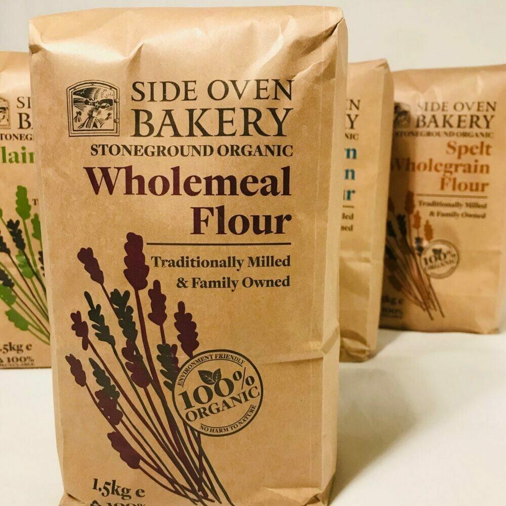 Organic Stoneground Wholemeal Flour 1.5kg