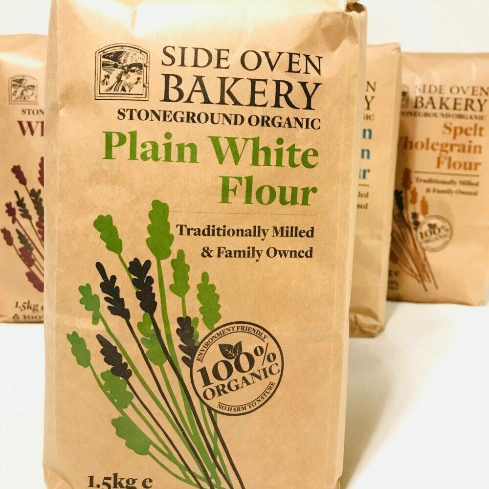 Organic Stoneground White Flour 1.5kg