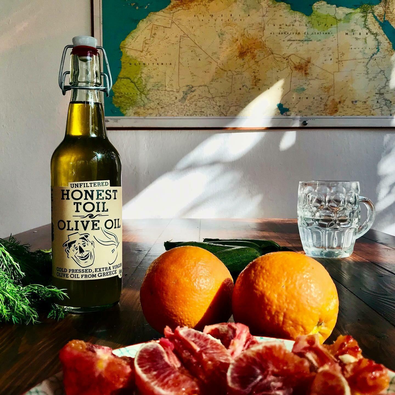 Honest Toil - Extra Virgin Olive Oil (500ml Bottle)