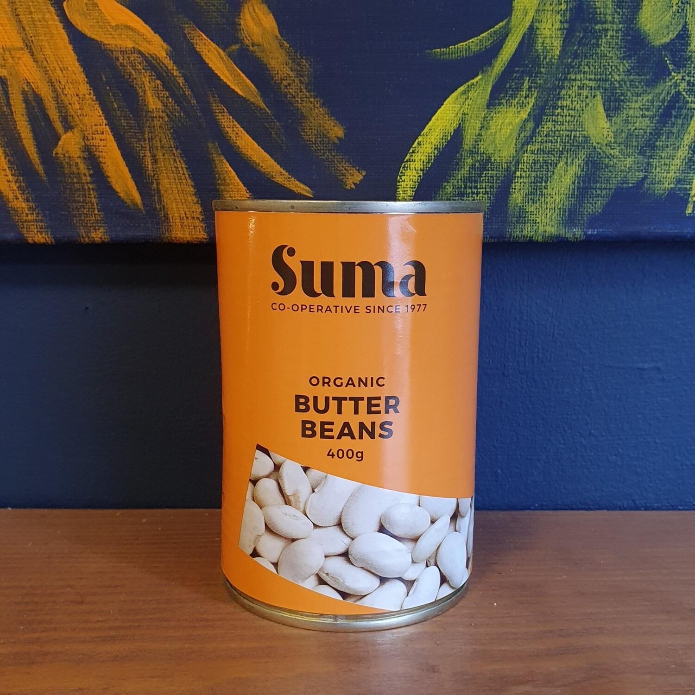 Organic Butter Beans - 400g