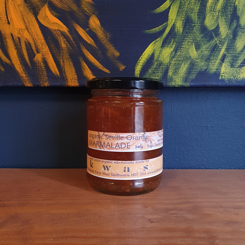 Organic Seville Orange Marmalade (340g)